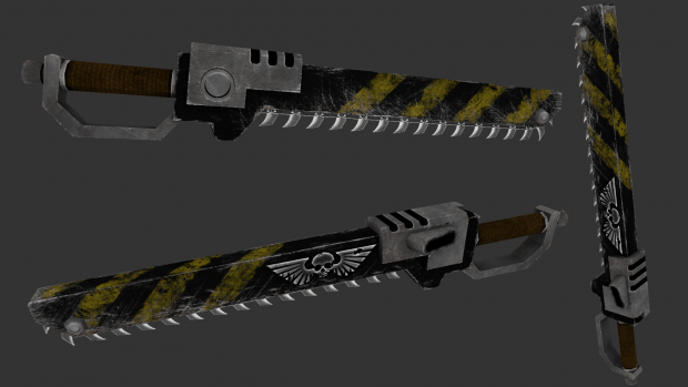 Chainsword texture update