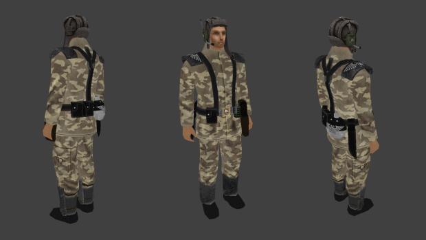 Imperial guard crewman