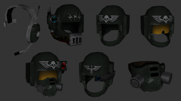 Imperial guard headgear