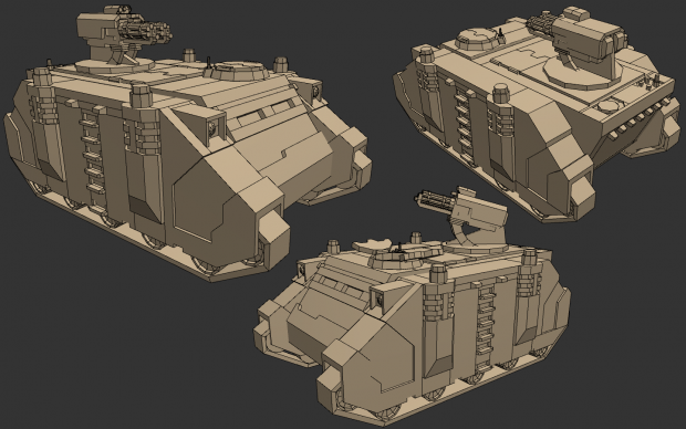 Space Marine Razorback