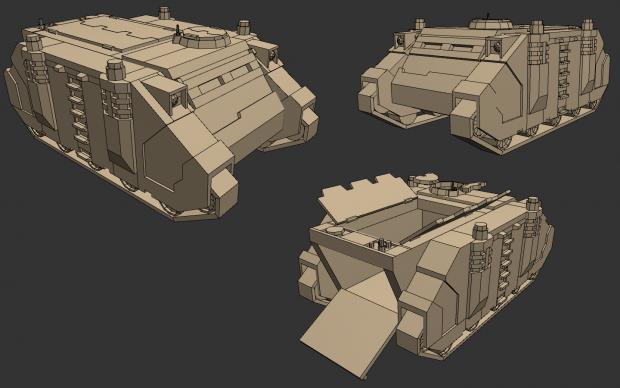 Space Marine Rhino MkIIc APC