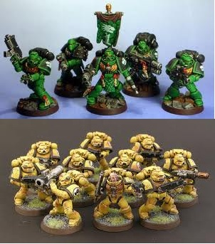 Space Marine Chapter Winners