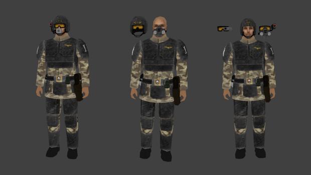 Imperial guardsmen