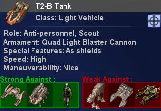 New unit description system (updated)