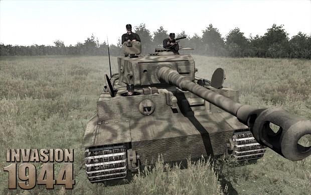 PzKpfw VI E 'Tiger' Tank