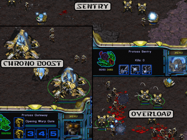 New Protoss Graphic Effects