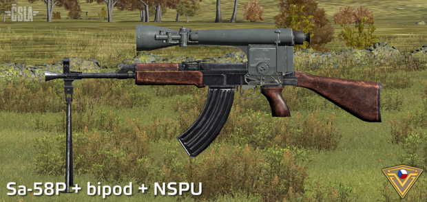 New CSLA weapons