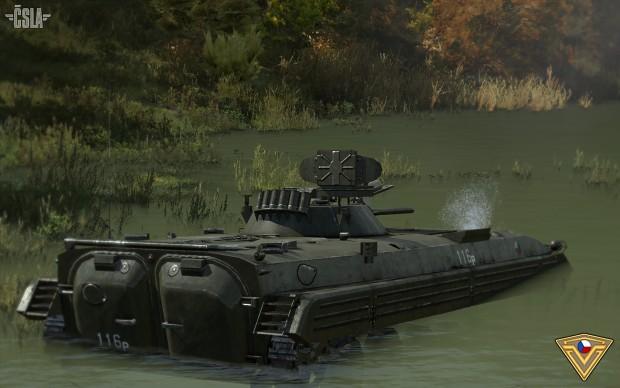 New CSLA vehicles