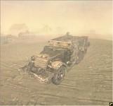 M3 halftrack (Desert Rats)