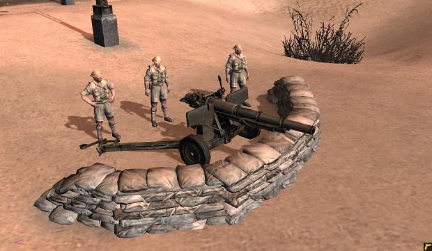 75mm M2A2 Mk.4 1897 field gun