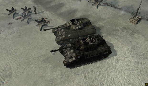 how to set m10 wolverine in company of heroes