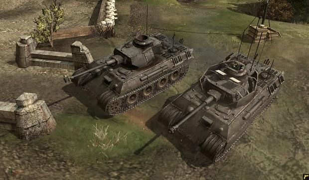 Command tank Panzer V/IV