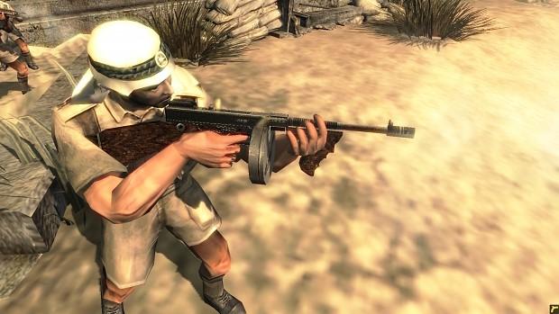 "M1928 Thompson ""Tommy gun"""