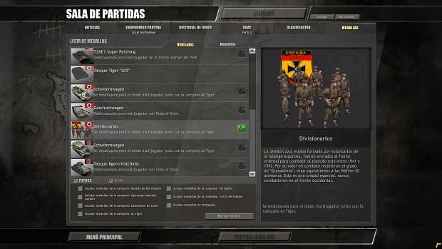 Reward unit: Blaue division