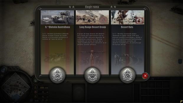 8th british Army  doctrines - africa