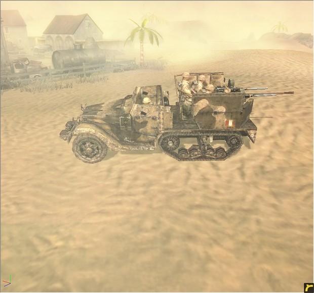 M15A1 halftrack