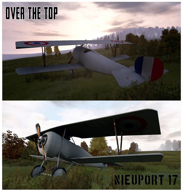 Nieuport 17 W.I.P in game