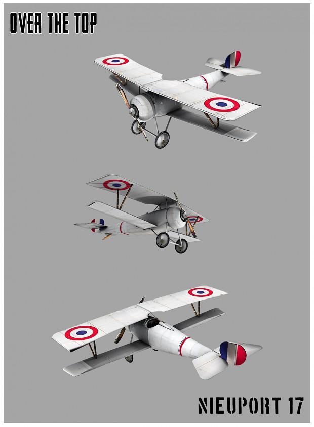 Nieuport 17 W.I.P