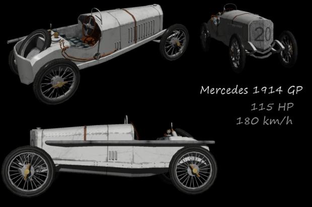 MERCEDES GP 1914