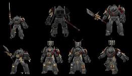 Grey Knight Terminators texture WIP