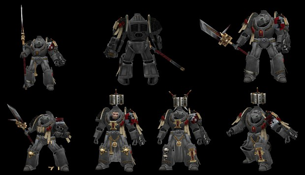 Grey Knight Terminators texture WIP