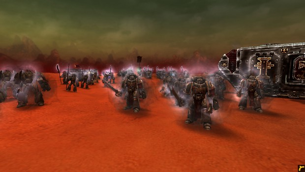 Grey Knights in game shots