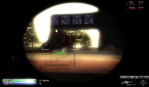 Sniper Depth of Field Demonstration