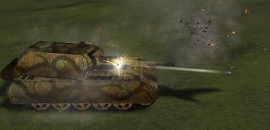 Maus Super Heavy Tank Firing