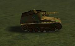 Wespe Mobile Artillery