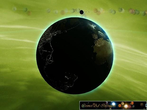Fiction Sol Planets