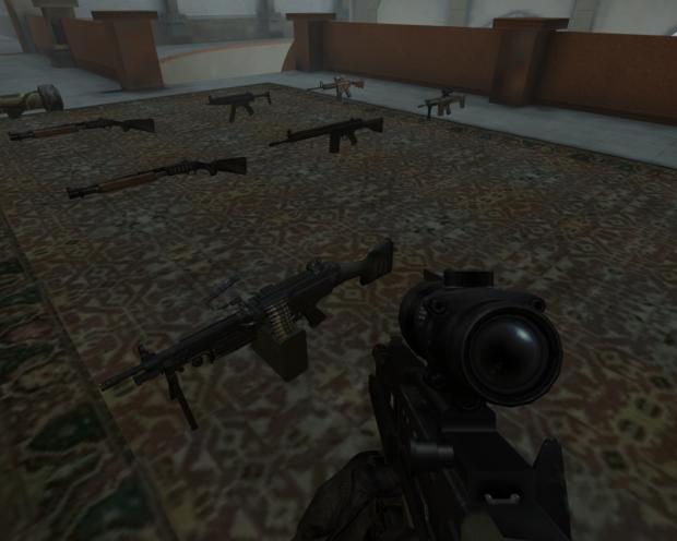 M249 & L85A2