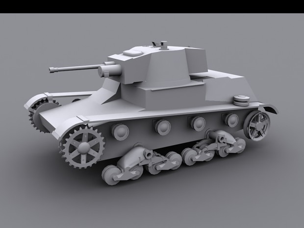 7TP light tank by Abs