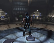 Wolverine's Tron Suit