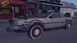 New BTTF models: BTTF3 Before