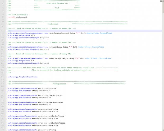 ESAI Code Snippet