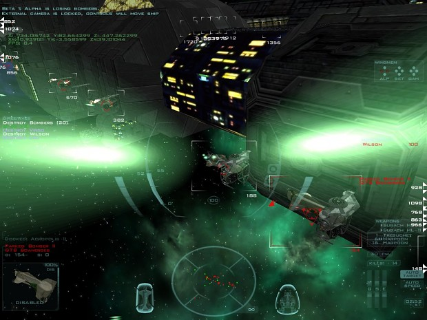 Screenshots from Mission 5