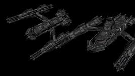 Cybran : Tech 2 spaceship