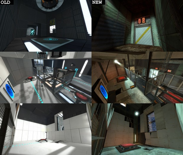 Experimental Test Chamber Style Changes