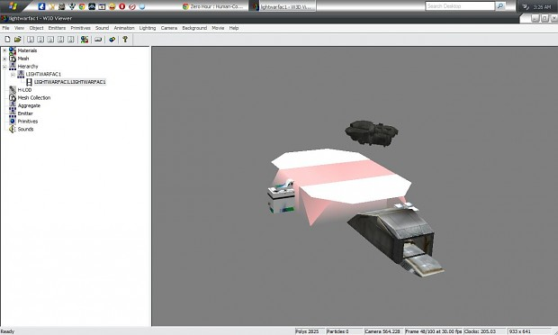 New UNSC Light War-factory Model CUSTOM BY ME!