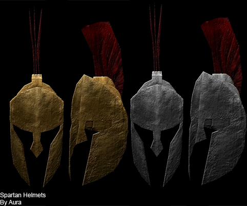 Spartan Helmets.