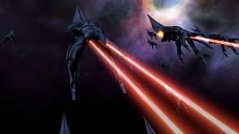 Huge Mass Effect Naval Engagement