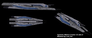 Systems Alliance Cruiser Skinned 2