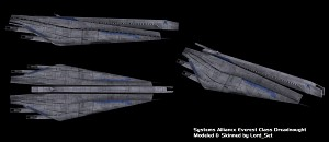 Systems Alliance Everest Class Dreadnought