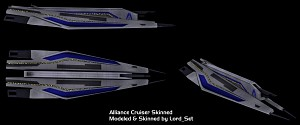 Alliance Cruiser V4 Skinned