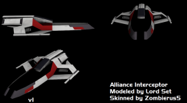 Alliance Interceptor Skinned WIP