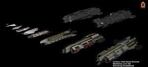 Cerberus Fleet (Some Skinned)