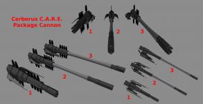 Cerberus C.A.R.E. Package cannon Concept Poll