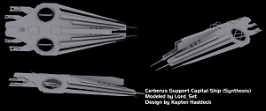 Cerberus Support Capital Ship: Synthesis V2