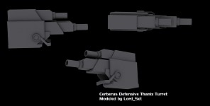 Cerberus Defensive Thanix Turret