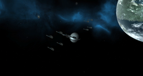 Migrant Fleet in-game